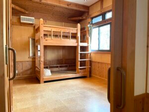 2段ベッドの部屋