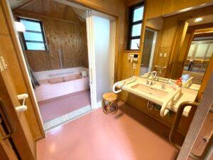 バリアフリーのお風呂