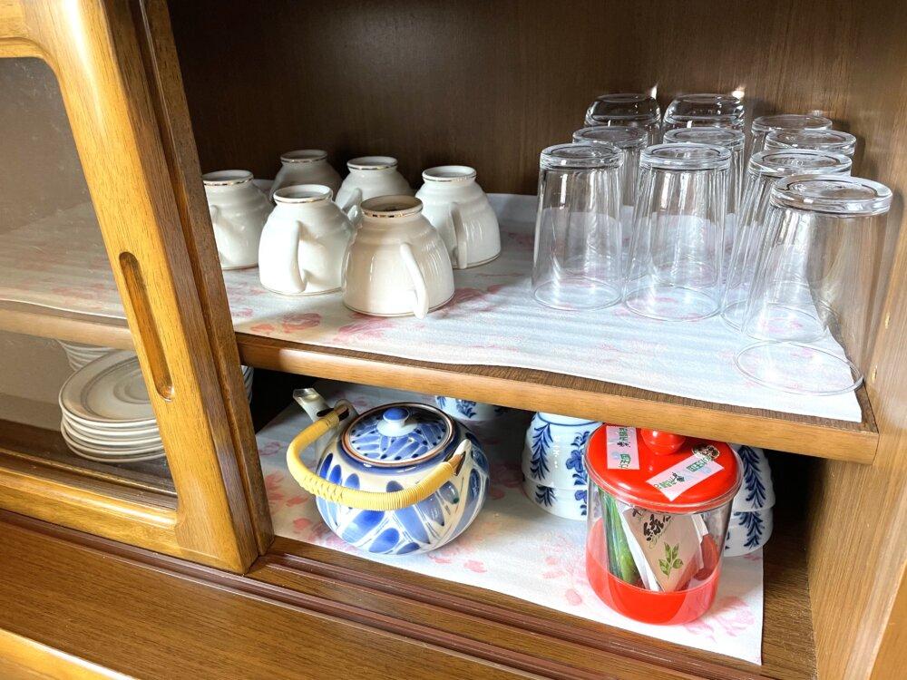 コーヒーカップや急須、コップ